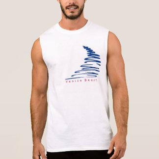 Camiseta Squiggly de la playa de Lines_Venice