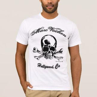 Camiseta SS del cráneo de Marc Vachon Hollywood