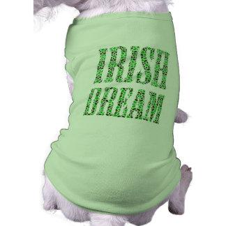 CAMISETA ST PATRICK'S DAY IRISH DREAM T-SHIRT DE PERRO