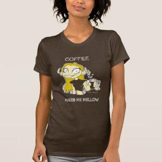 Camiseta suave del café