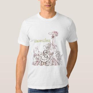 Camiseta subconsciente de los Critters de la Camisas