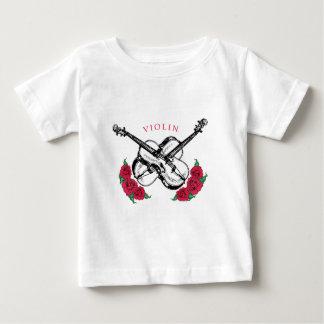 Camiseta subió violín