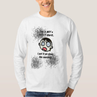 Camiseta sucia (ropa ligera) remera