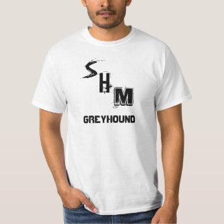 Camiseta sueca del galgo de la mafia de la casa