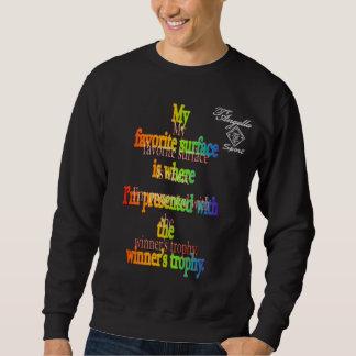 camiseta superficial preferida de Crewneck del