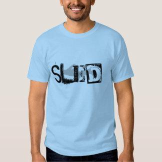 Camiseta superior azul clara de la península del playera