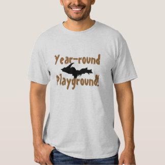 """Camiseta superior de la península del """"patio a lo remeras"""
