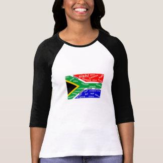 Camiseta surafricana del argot - personalizable