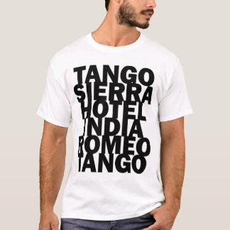Camiseta temática de la aviación