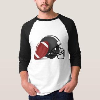 Camiseta temática del béisbol del fútbol