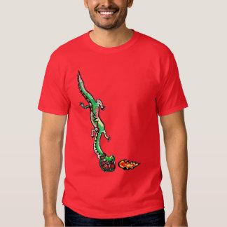 Camiseta temible del adulto del dragón camisas