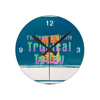 CAMISETA Tiki tropical Reloj