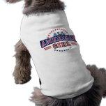 Camiseta Todo-Americana del perro del chica Camisetas De Perrito