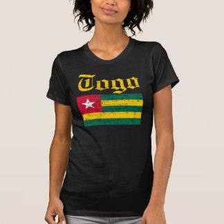 Camiseta togolesa fresca de la bandera