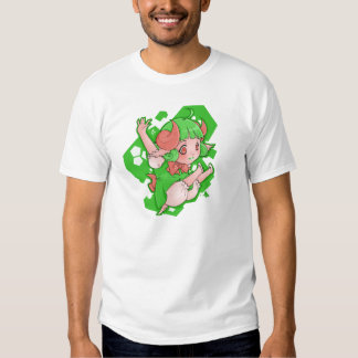 Camiseta tonal de la raya de Whyndy Loli Polera