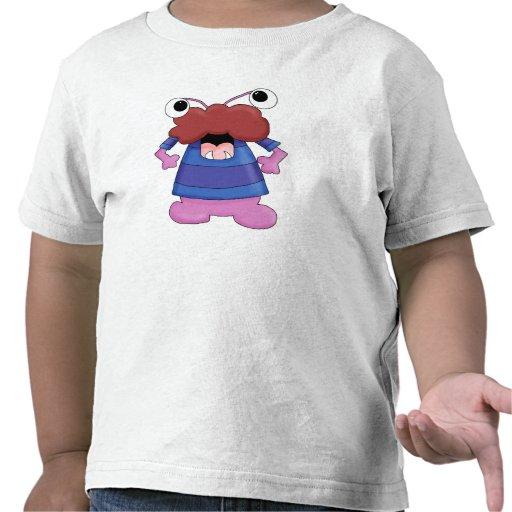 Camiseta tonta del niño del monstruo 8 de la diver