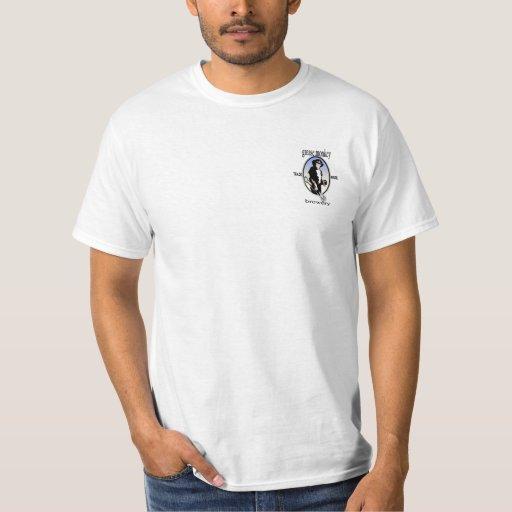 camiseta top negro de 2 carriles