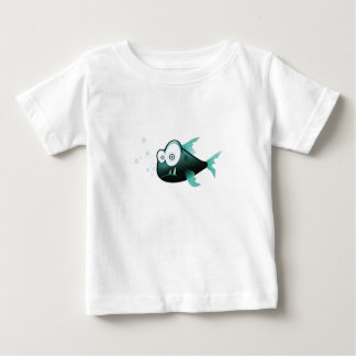 Camiseta torpe del bebé de los pescados remeras