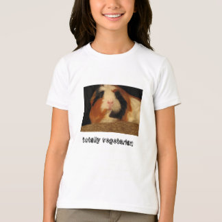 Camiseta totalmente vegetariana