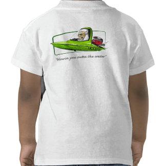 Camiseta tóxica de los niños - blanco