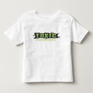 Camiseta tóxica de los niños - blanco playeras