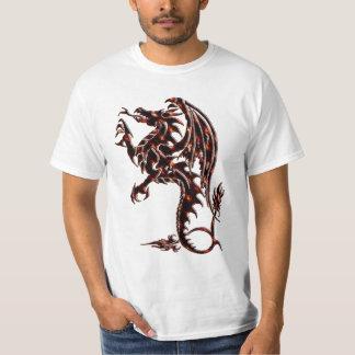 Camiseta tradicional del dragón playera