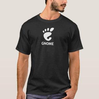 Camiseta tradicional del logotipo del GNOMO