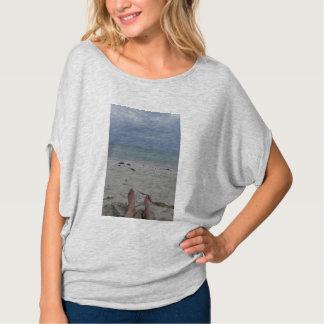 Camiseta tranquila de la playa