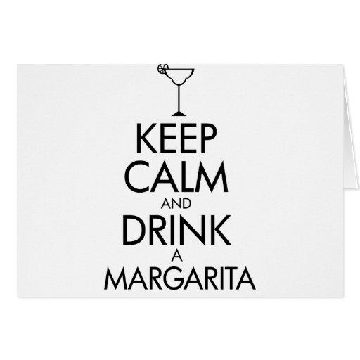 Camiseta tranquila de Margarita de la estancia Tarjeta
