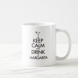 Camiseta tranquila de Margarita de la estancia Taza Clásica