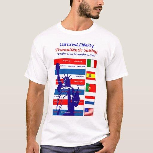 camiseta transatlántica de la travesía