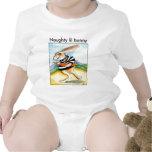 Camiseta traviesa del bebé del conejito del lil