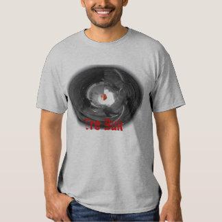 Camiseta Trebuk-Roja del mármol de la lechuga Poleras