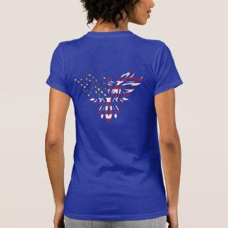 Camiseta tribal americana del tatuaje de Eagle Aqu