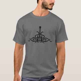 Camiseta tribal de la guitarra