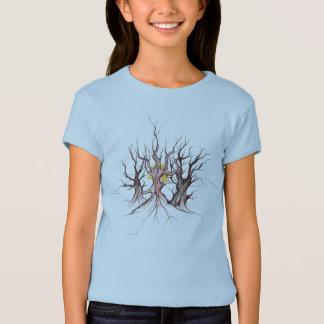 Camiseta tribal del niño del árbol