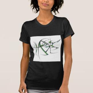 Camiseta tribal verde poleras
