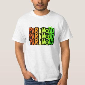 Camiseta tricolora paranoica
