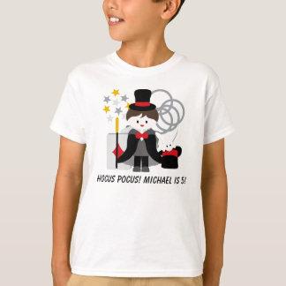 Camiseta triguena de encargo de la magia de la playera