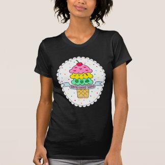 Camiseta triple de la tropa de la cucharada
