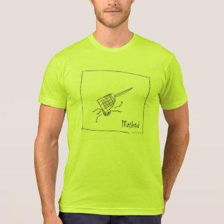 camiseta triturada playera