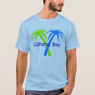 Camiseta tropical de las palmeras de la diversión
