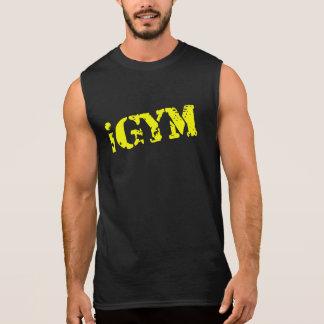 camiseta ultra sin mangas del oro de los hombres d