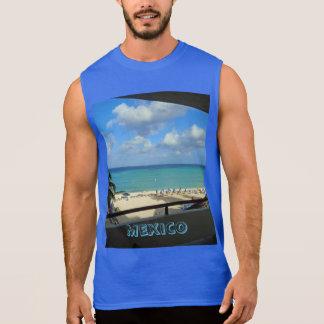 Camiseta ultra sin mangas para hombre de México Playeras Sin Mangas