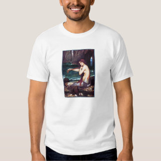 Camiseta:  Una sirena - Waterhouse de Juan Polera