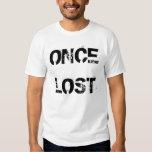 Camiseta una vez perdida del Outreach Remeras
