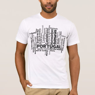 Camiseta única de Portugal