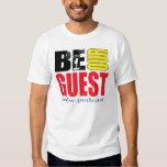 Camiseta unisex blanca del Color-Logotipo de BOGP Playera