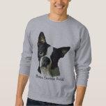 Camiseta unisex de Boston Terrier Pullover Sudadera