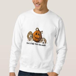 Camiseta unisex de Halloween de los beagles Sudaderas Encapuchadas
